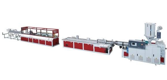 PVC single-screw WPC(foaming) extrusion line