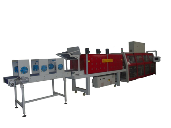 One-piece Film Wrapping Heat Shrink Packaging Machine - LC-MBS100D/80D/45