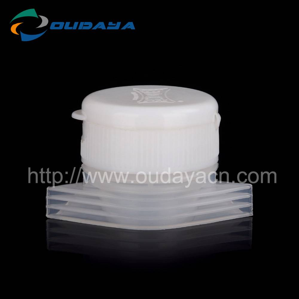 Low price 34mm plastic flip top cap for pepper powder and condiment