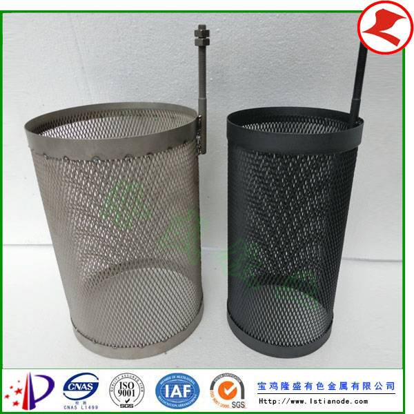Pt Coated Titanium Anode for Electrochemistry Plant