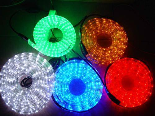 LED Round 2-wire rope light