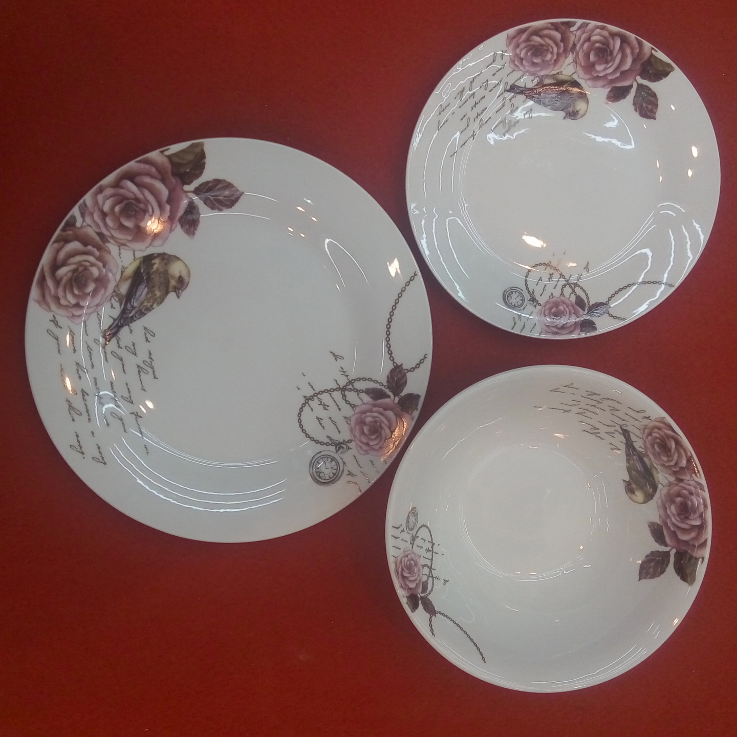 well quality dinnerware set