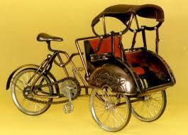 miniature rickshaw