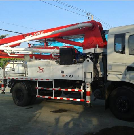 21M Concrete Pump Truck-Mounted Concrete Pump