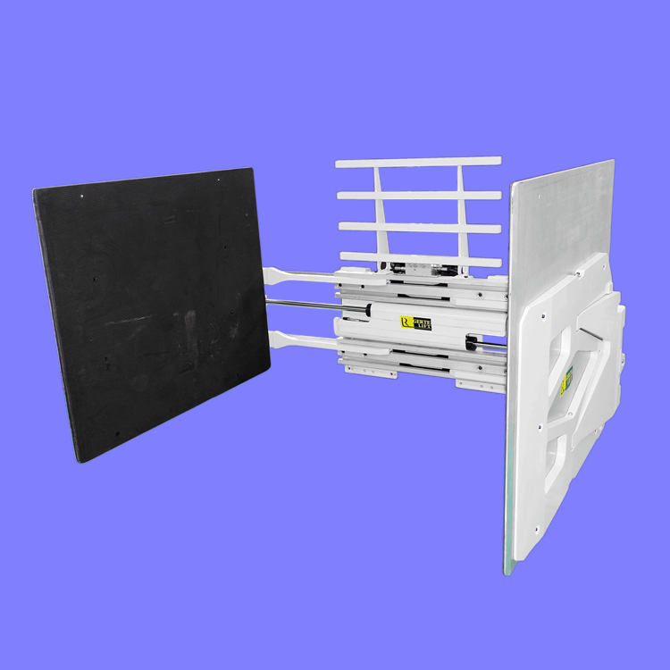 home appliances carton clamp,carton handler equipment,hydraulic forklift attachments