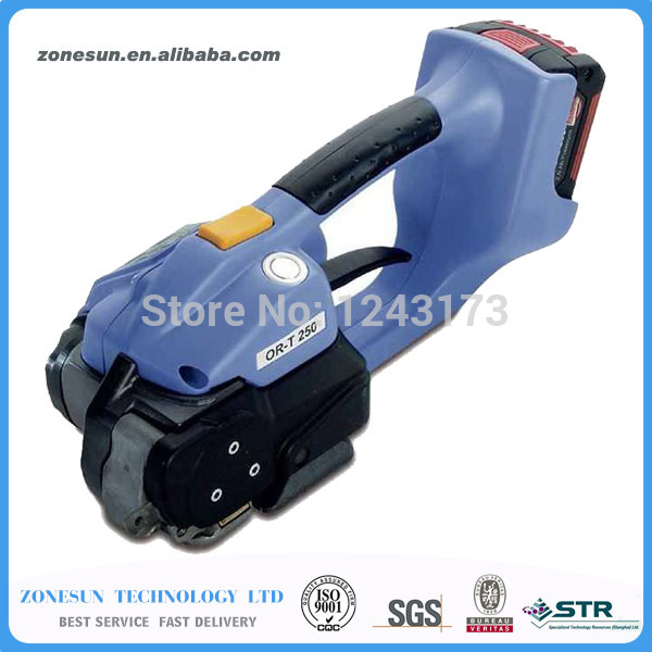 ZONESUN OR-T 250 Battery powered plastic strapping tool machine