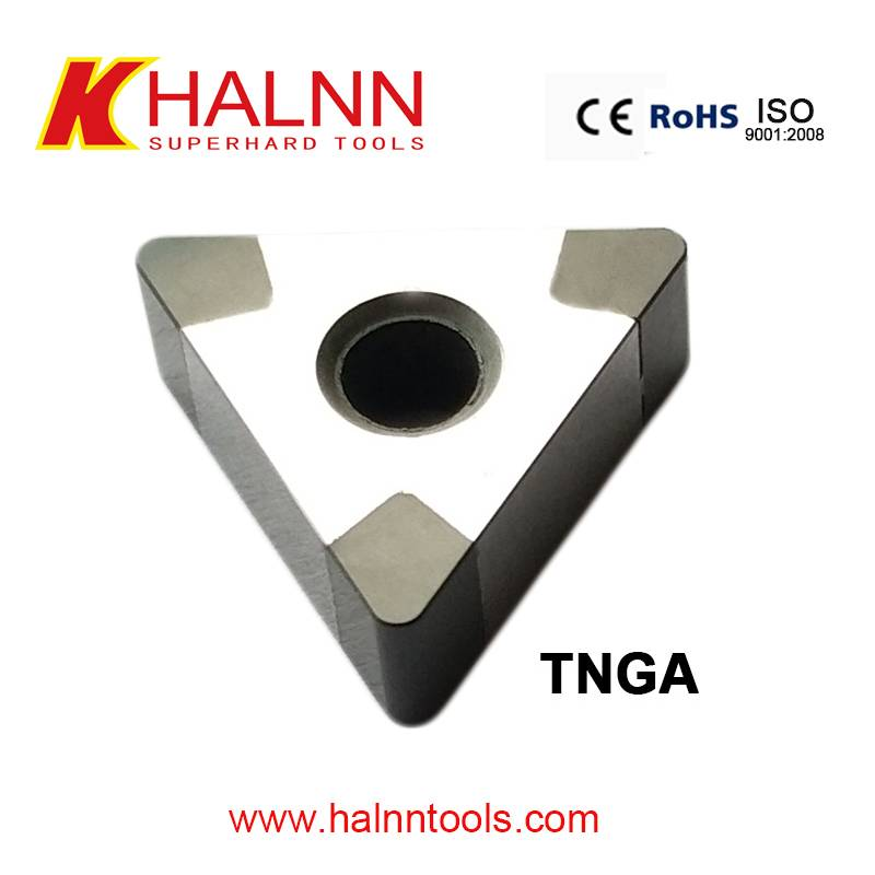 Halnn CBN insert for turning brake disc and brake drum with gray cast iron materials