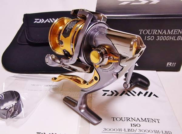 Daiwa Tournament ISO 3000H LBD Spinning Reel