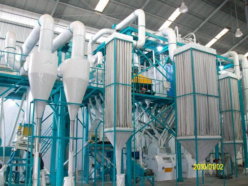 200mt per day wheat flour grinding plant