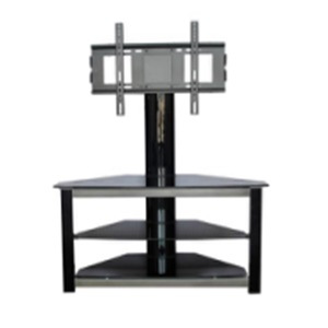 practical style glass tv stand