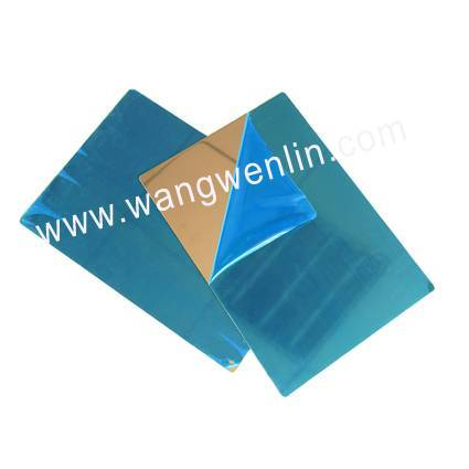 PVC card making stainless steel plates