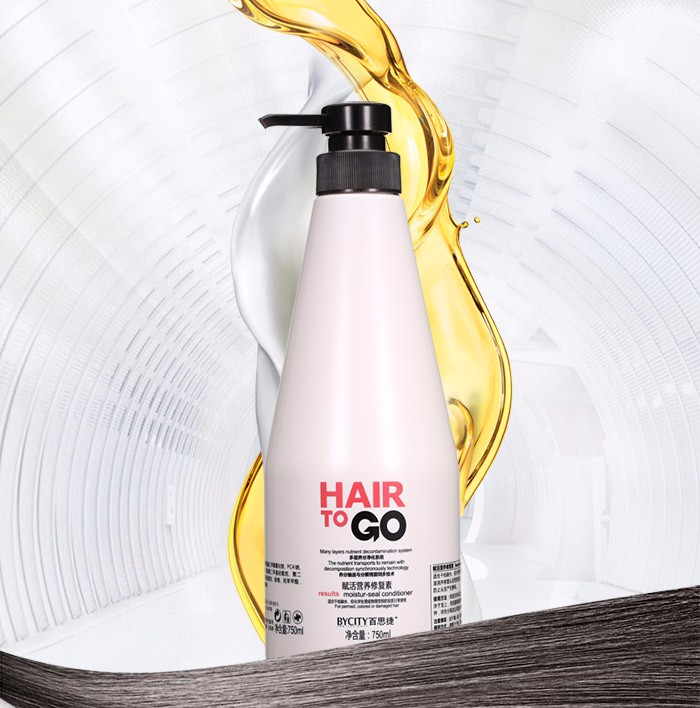 280ml/750ml private label hair shampoo conditioner