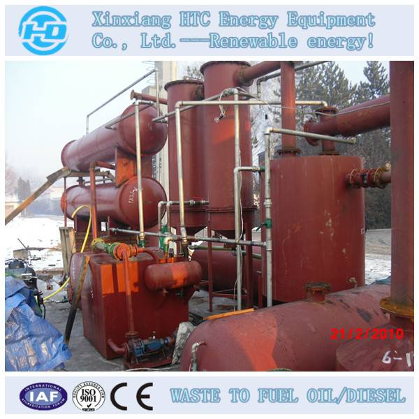 used tires refinery plant