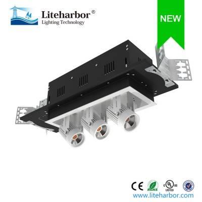 3-Lamp Retractable Led Shop Light
