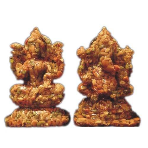 Laxmi Ganesh Navdhanya Statue
