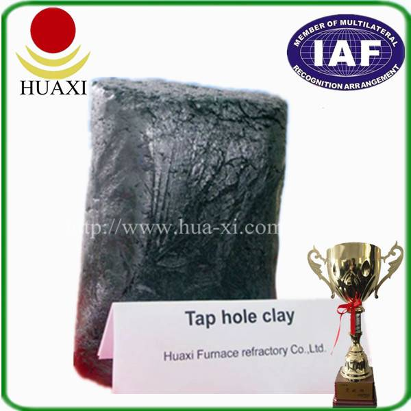 New- type Anhydrous Taphole Clay