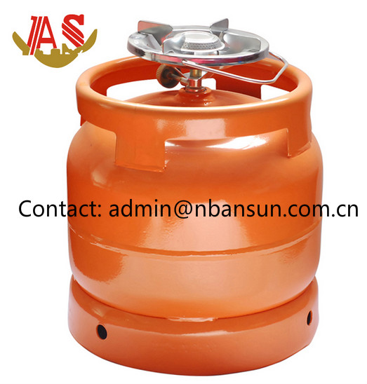 Portable Home Use 6kg LPG Container to Nigeria