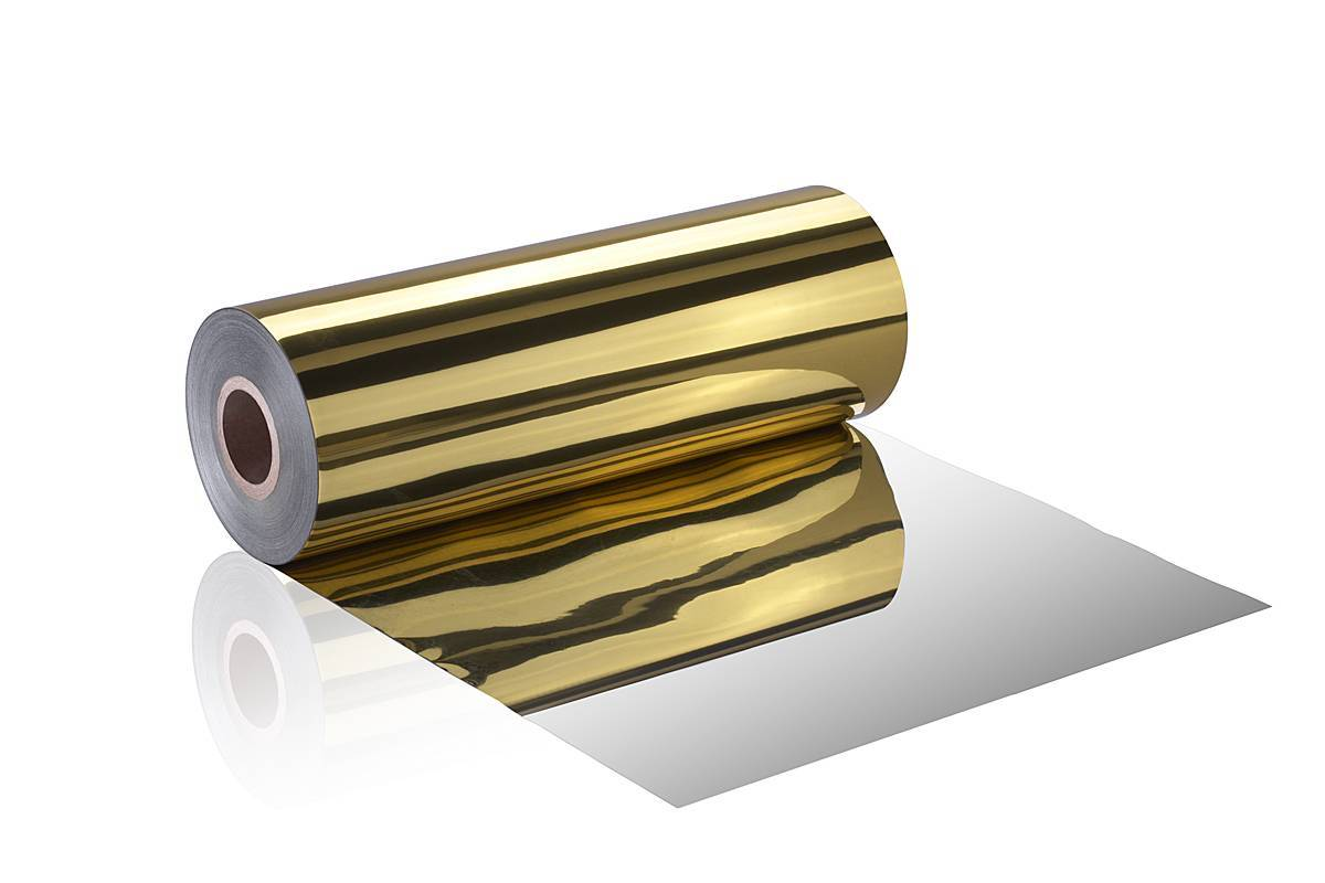 Gold Metalized BOPS Sheet