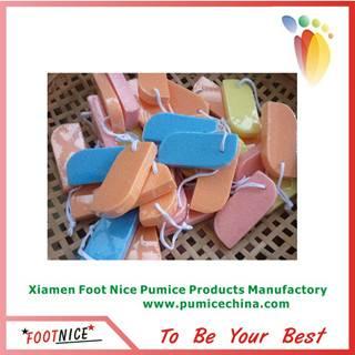 foam pumice sponges for foot pedicure stone