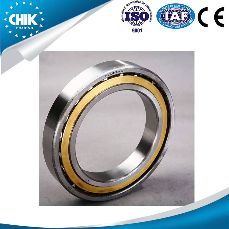 High precision angular contact ball bearing 7030 with factory price