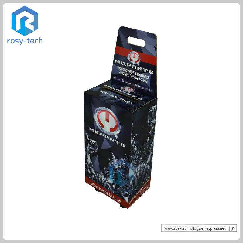 POS Trade Show Pop Display Portable Case Exhibition Carton Supermarket Cardboard Trolley Case