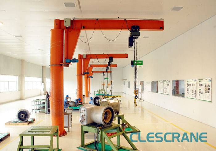 CJZ Series Column Swing Jib Crane lifting equipment