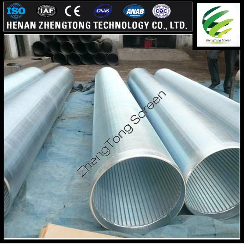 Usd in well slotted pipe