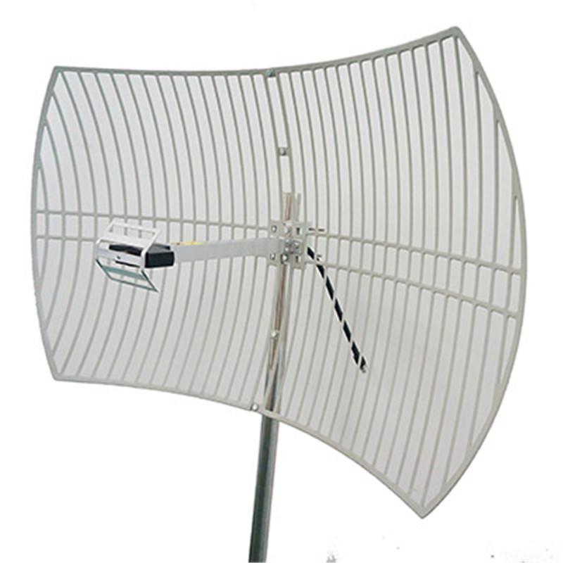 2.4GHz Parabolic Antenna with 24dBi Gain 2400-2500MHz WiFi Antenna
