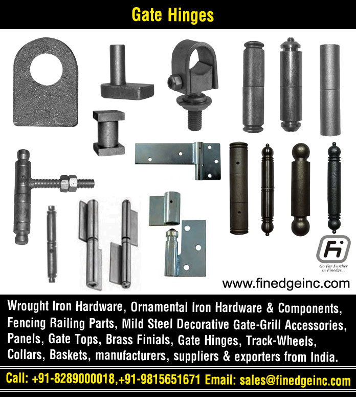 decorative gate hinges manufacturers exporters suppliers India http://www.finedgeinc.com