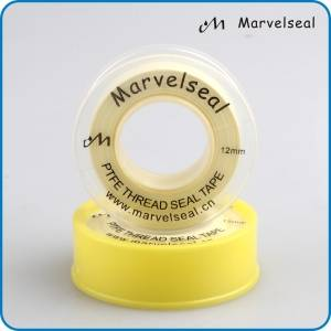 yellow PTFE tape yellow PTFE thread seal tape teflon tape