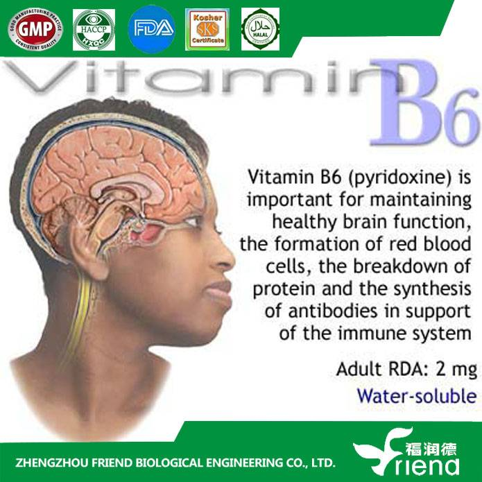 Manufacture supply Vitamin B6/Pyridoxol