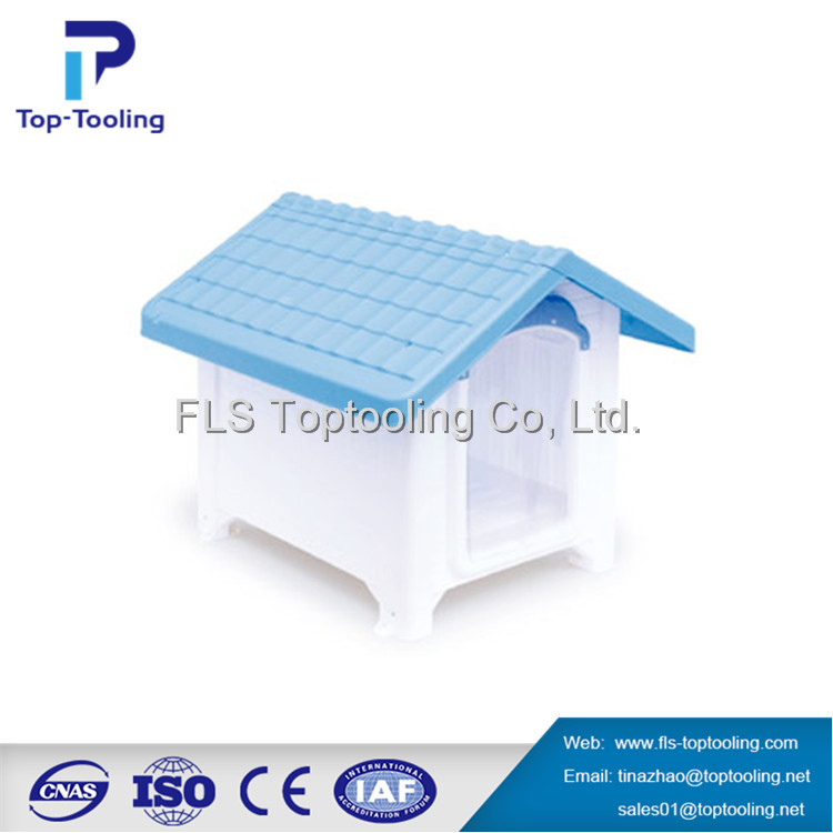 Hot sale plastic dog houses injection mould with high quality China mold maker moulding price