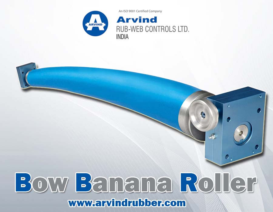 Bow Expander Roller For Packaging Industry
