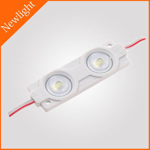 SMD2835 Injection LED Module / Backlight with optical lens 1W DC12V IP65 160°