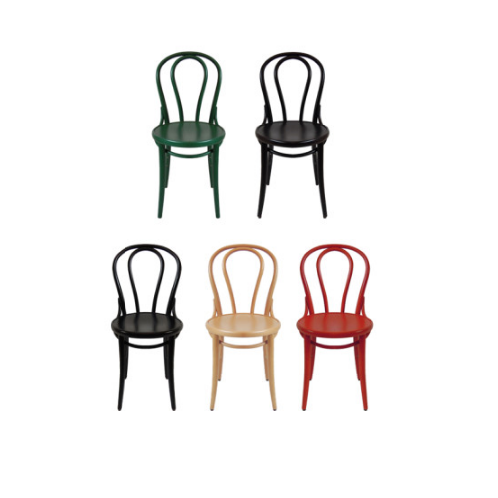 Tone Wooden Cafe Chair(Chair)