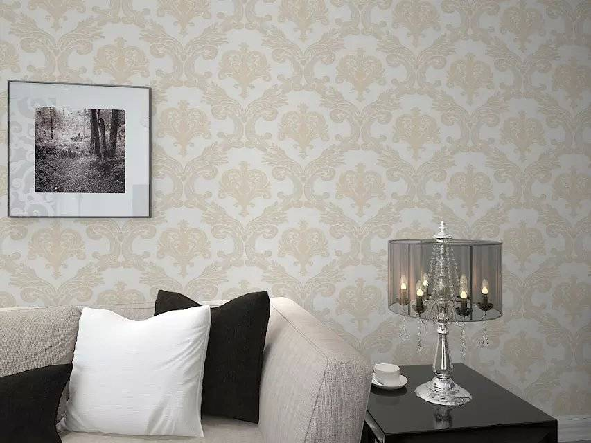 Delicate Design PVC Home Interior Decoration Wallpaper