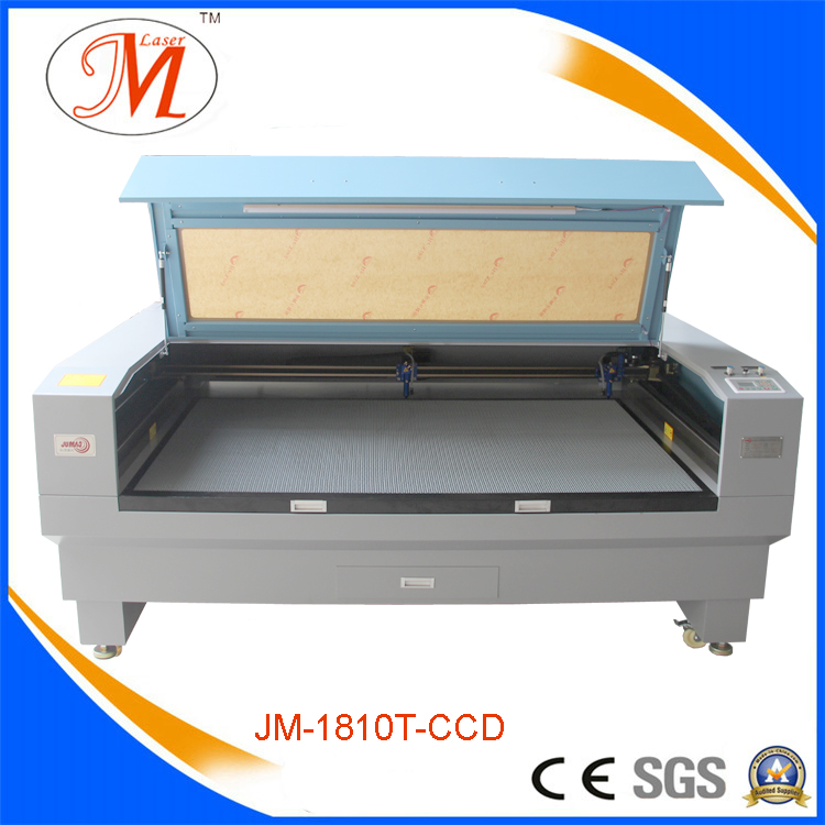 Hot-Selling Laser Cutting&Engraving Machine with 1.81sq. M Table (JM-1810T-CCD)