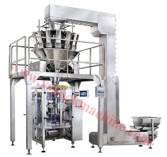 CE approval Weighing packing machine for food package in China