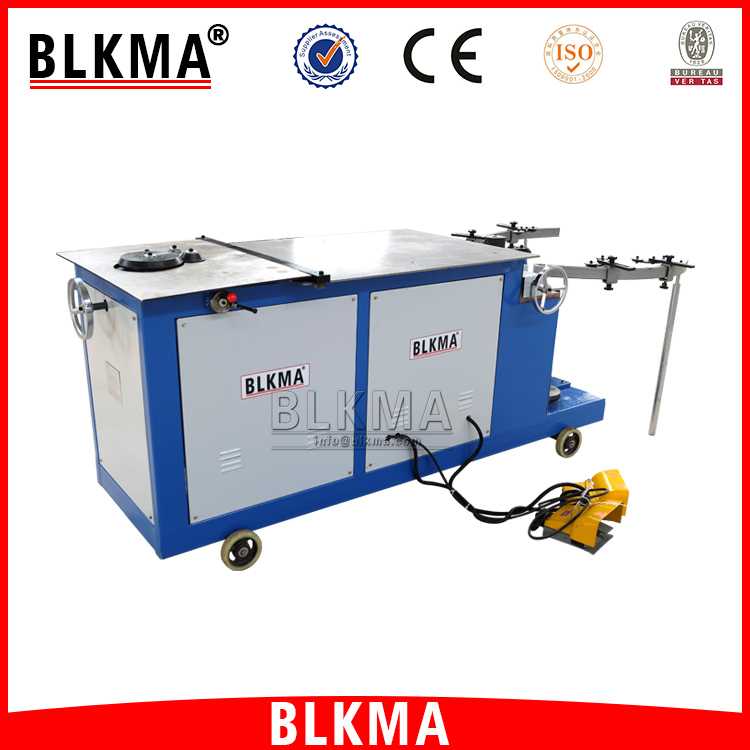 BLKMA Metal Steel Round Air Duct Elbow Making Machine