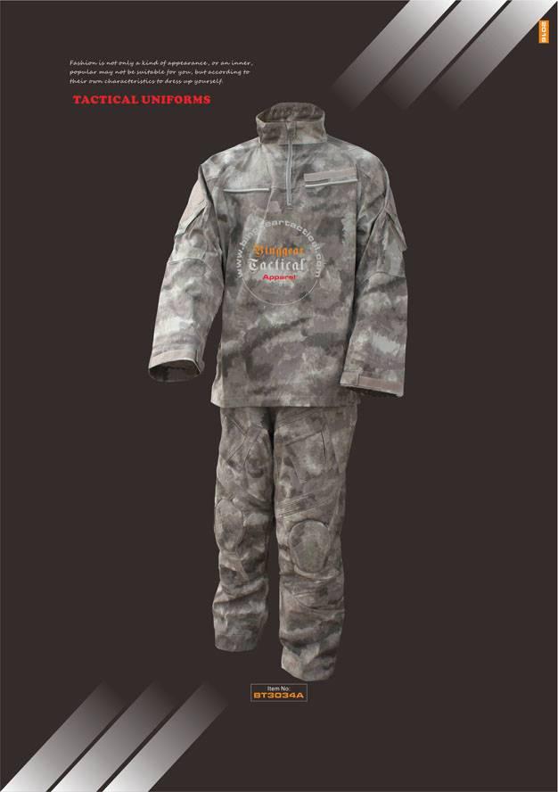 Camouflage Tactical Uniforms BT3034A