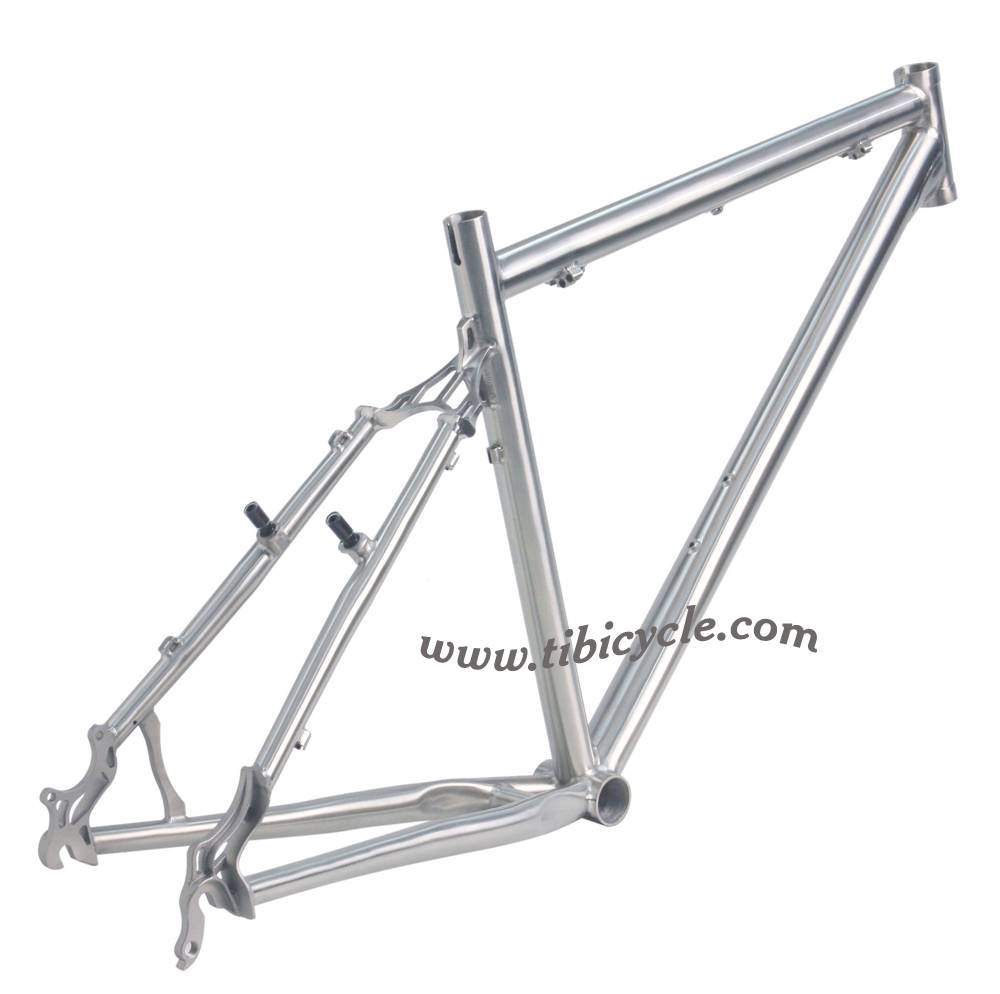 MTB Titanium Bicycle Frame HLM003
