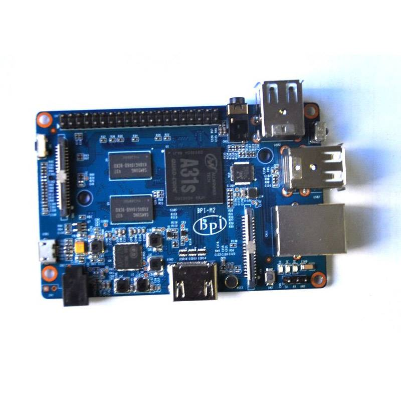 Quad core 1GB banana pi M2 motherboard raspberry pi dual ethernet