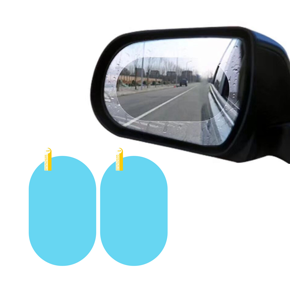Car Rearview Mirror Protective Film Anti Fog Film car rainproof for clear vision
