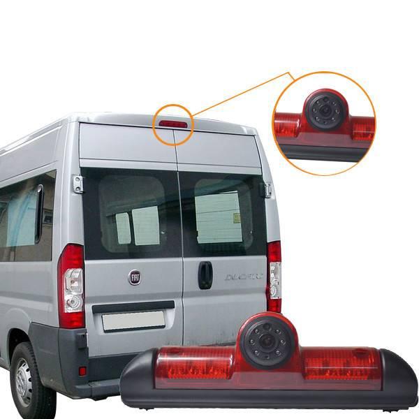 Vardsafe Rear View Brake Light Camera For Fiat Ducato Free Shipping VS505