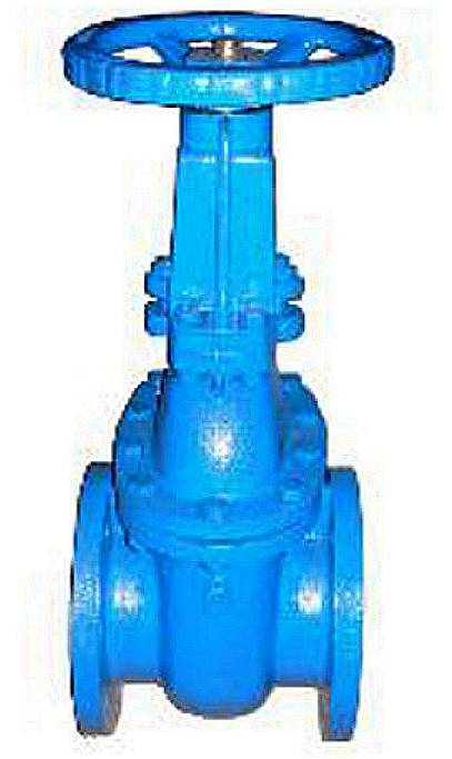 ANSI-125/150 CAST IRON GATE VALVE (RISING STEM)