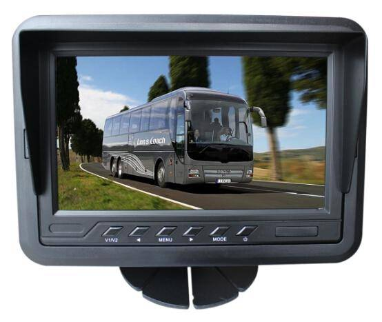 new 7 inch three way video TFT LCD monitor