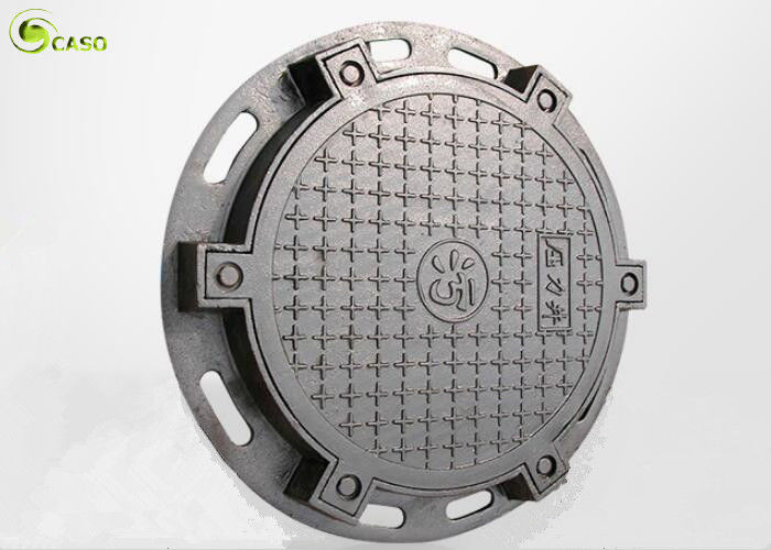 Sewage Ductile Iron Casting Manhole Cover Round Trench Drain Grating Cover