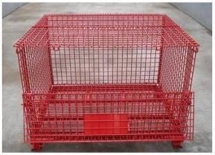 PVC-coated metal warehouse box storage CAGE  (FOR MARKET OR WAREHOUSE) manufacturer direct sale