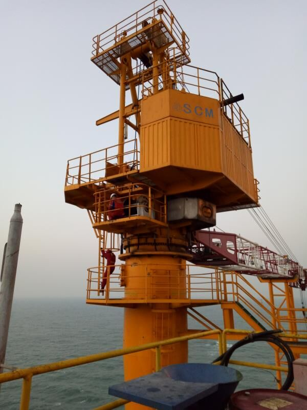 hydraulic offshore platform tower winch