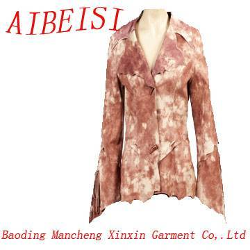 Women's flocking garment